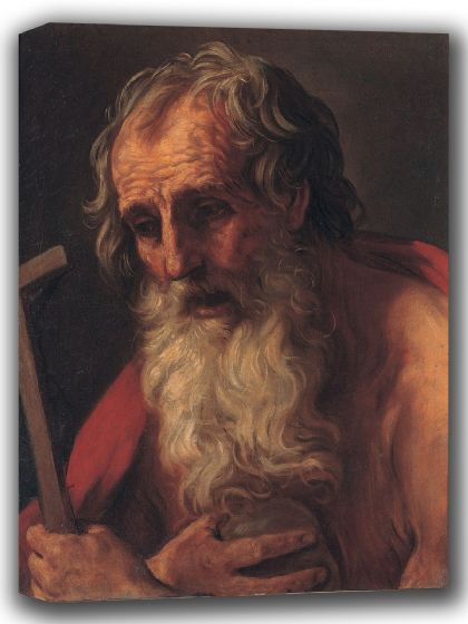 Reni, Guido: Saint Jerome. Fine Art Canvas. Sizes: A4/A3/A2/A1 (002104)